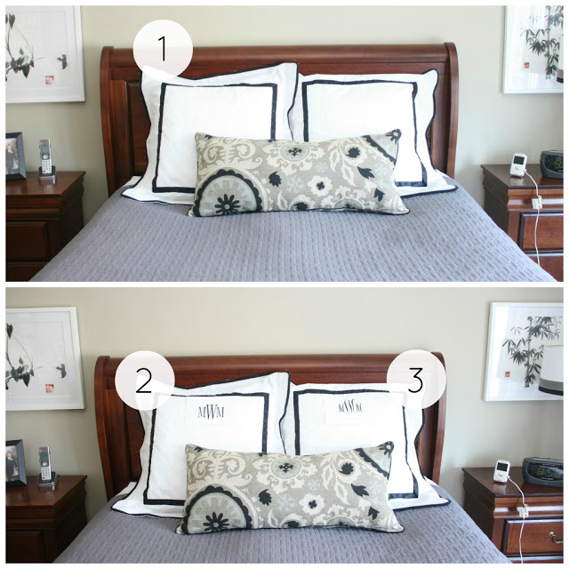 need your advice – monogrammed pillows