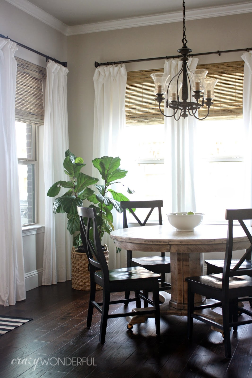 bamboo roman shades - Crazy Wonderful