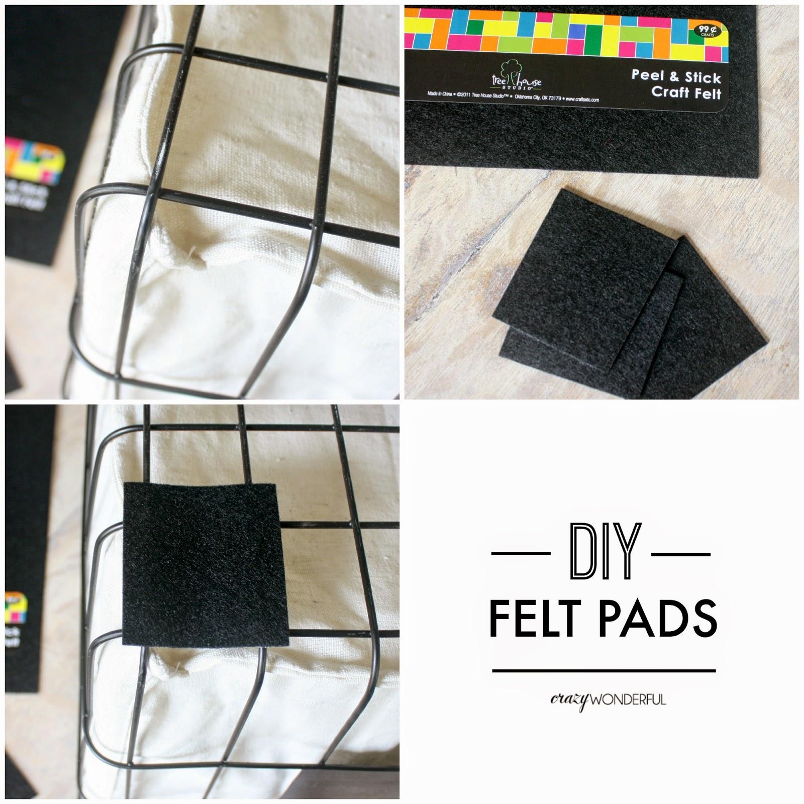 DIY felt pads