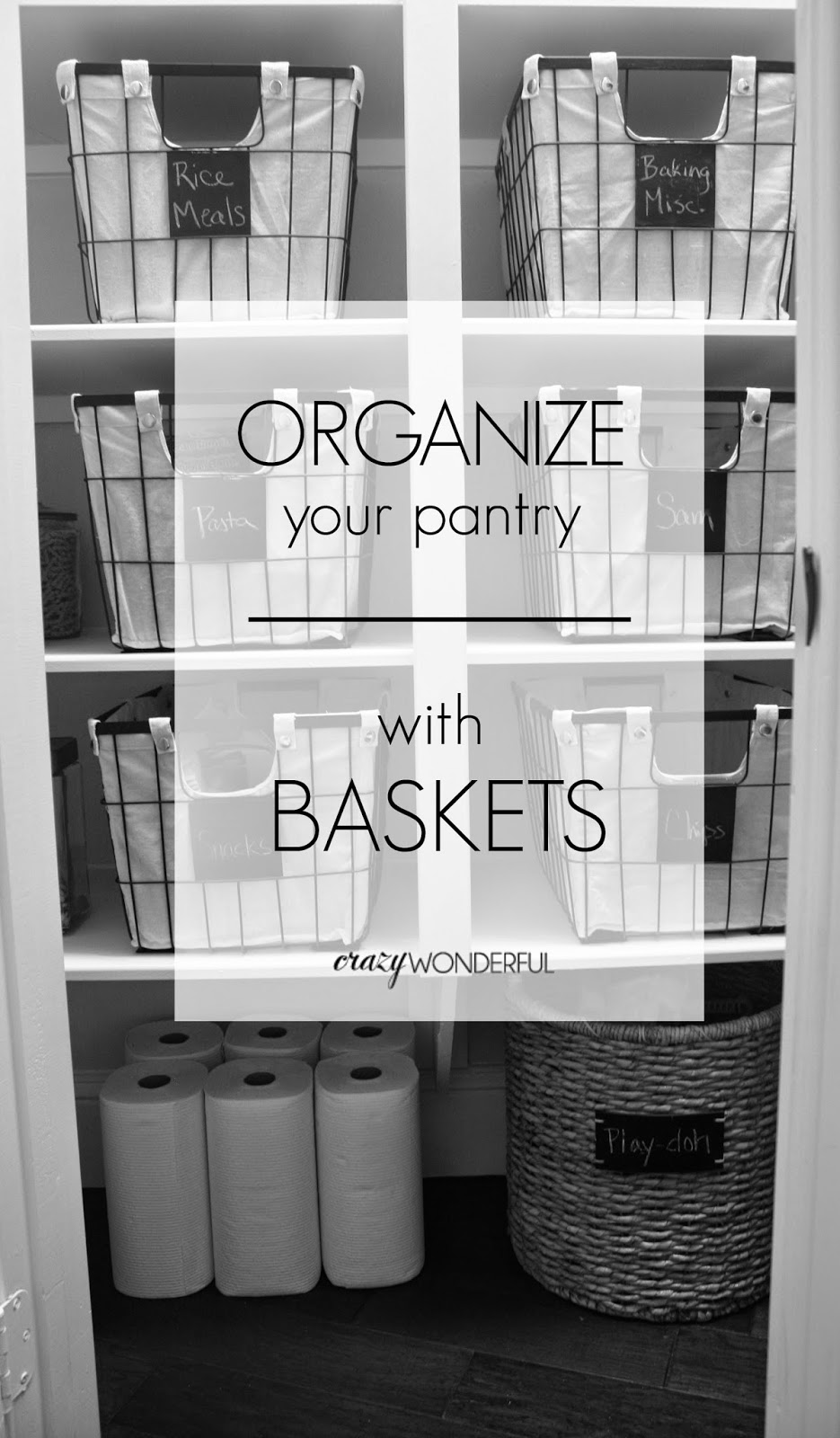 pantry makeover | after