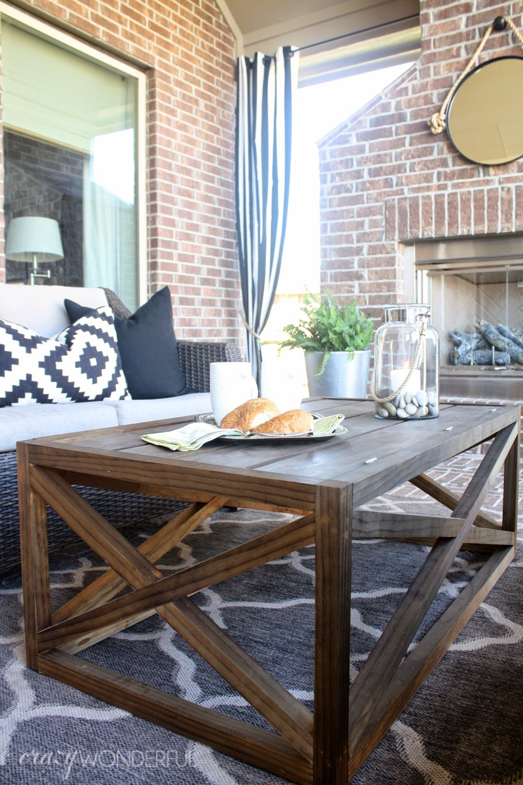 diy outdoor coffee table with storage crazy wonderful