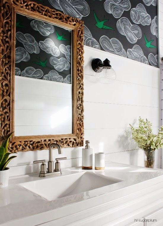 shiplap bathrooms