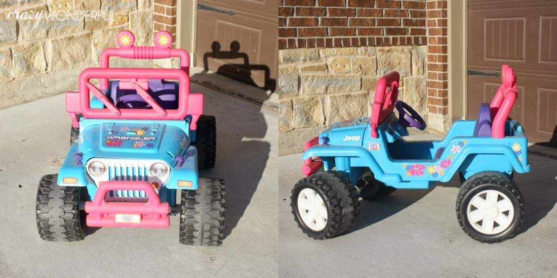 barbie jeep makeover | willy's jeep - Crazy Wonderful