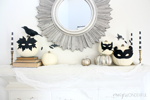 my halloween mantle