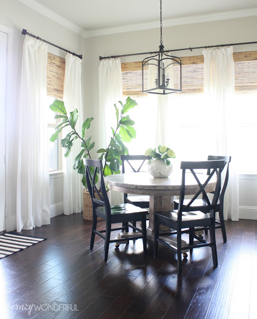 kitchen nook lantern + what would you do