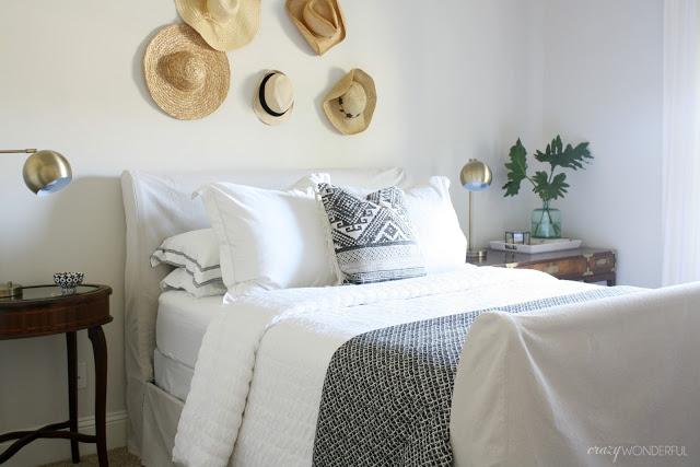 Diy Slipcovered Sleigh Bed Crazy Wonderful