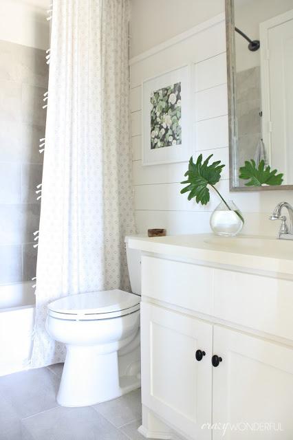 Builder Grade Bathroom Makeover Crazy Wonderful