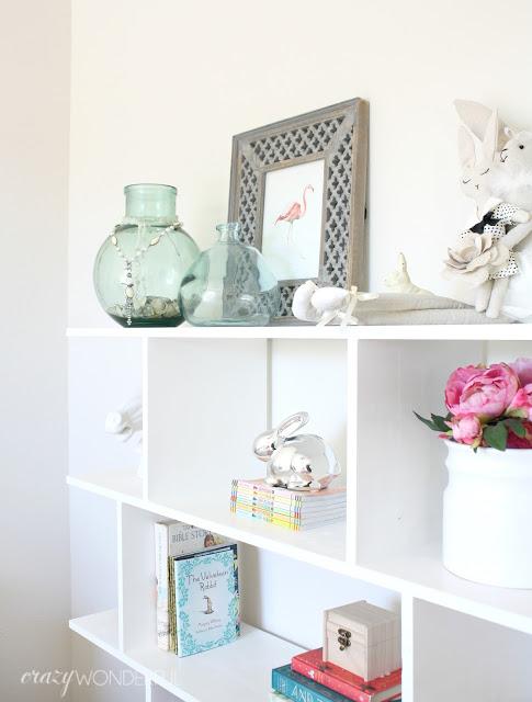 current project – bedroom shelves