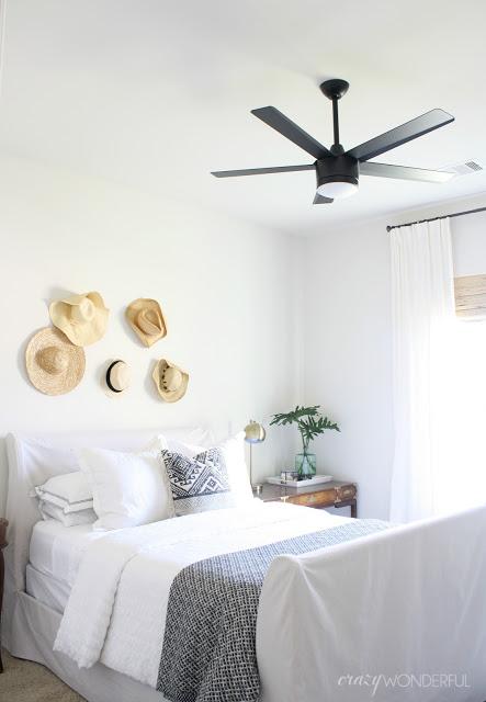 guest room ceiling fan