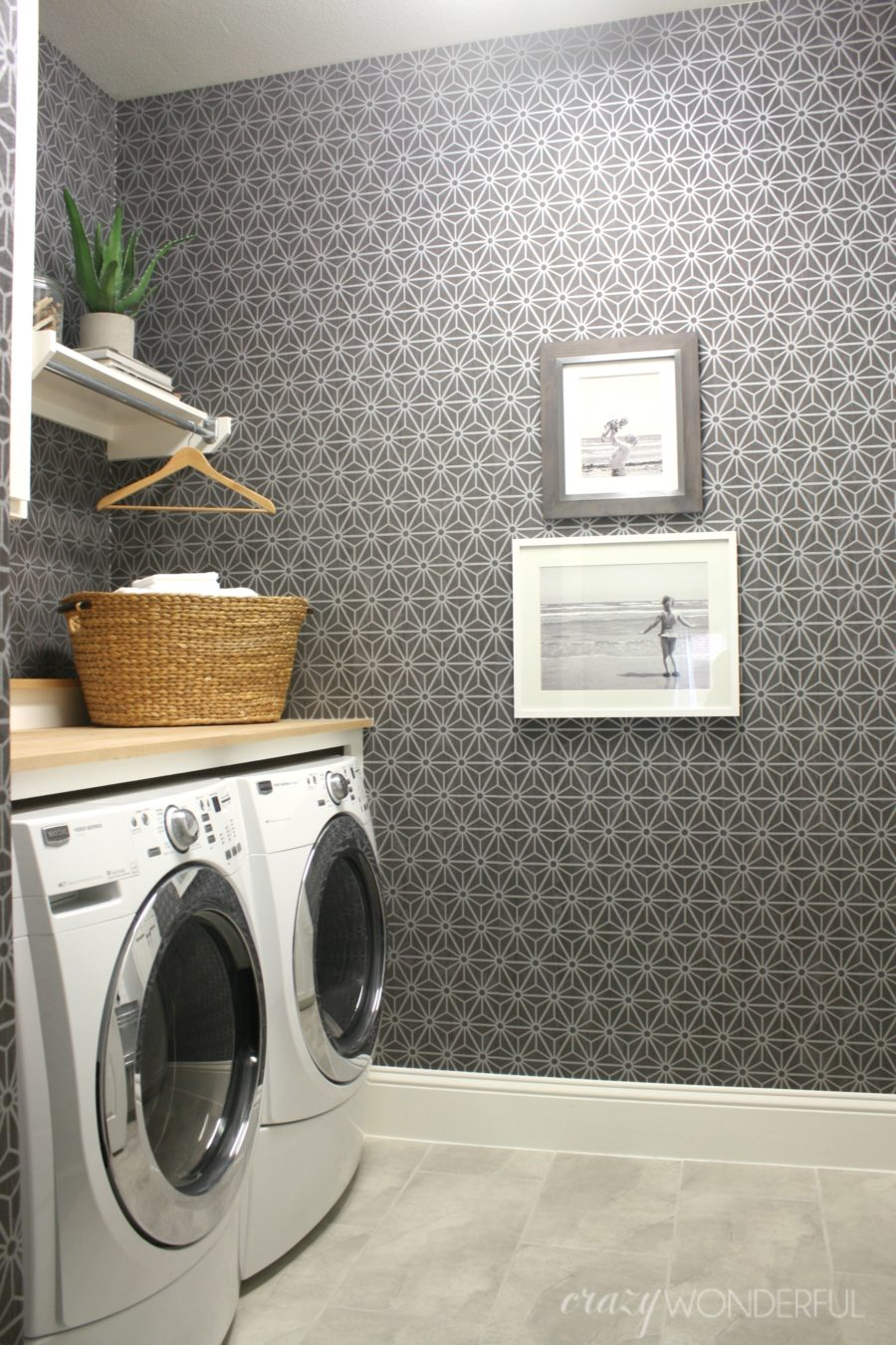 Laundry Room Wallpaper Texas House  Crazy Wonderful