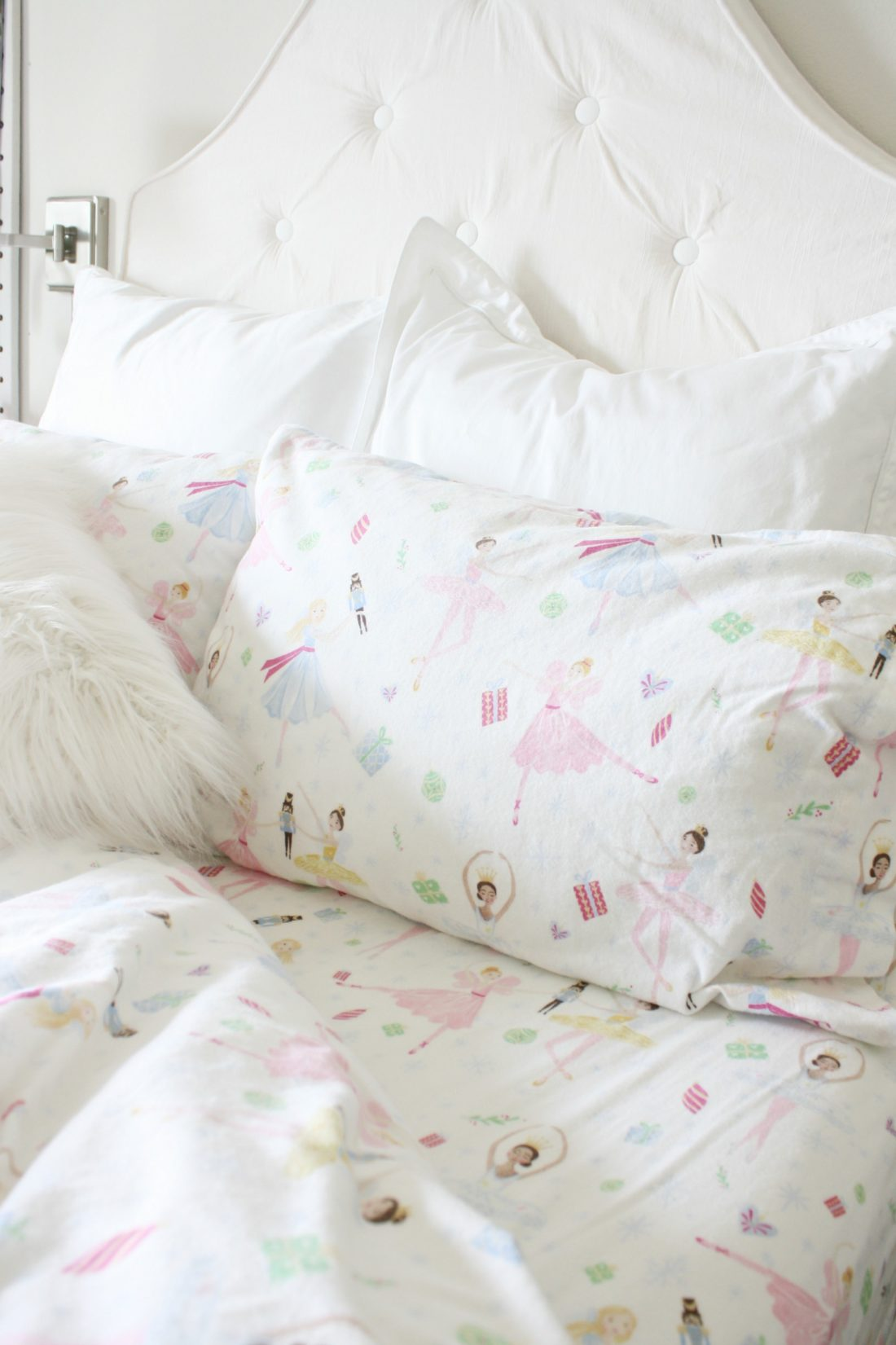Fabulous Girl us Flannel Sheets