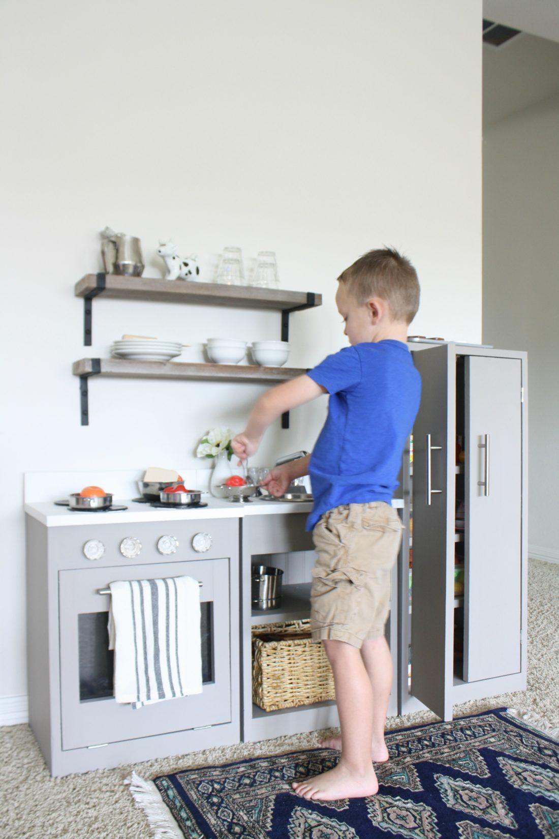 Play Kitchen Makeover - Crazy Wonderful