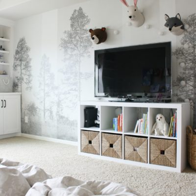 Playroom Wall Mural with Photowall