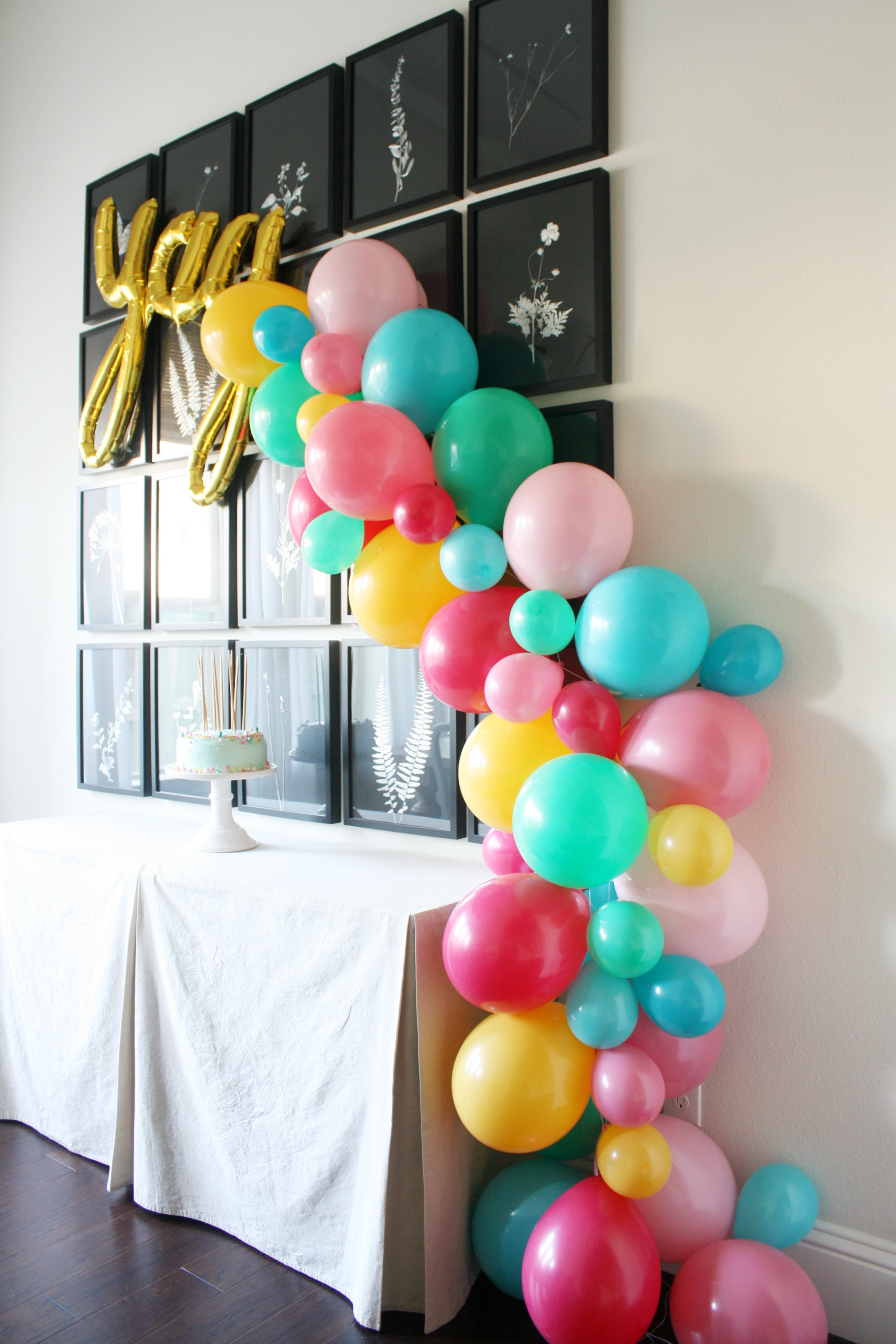 Easy Balloon Garland Tutorial Crazy Wonderful