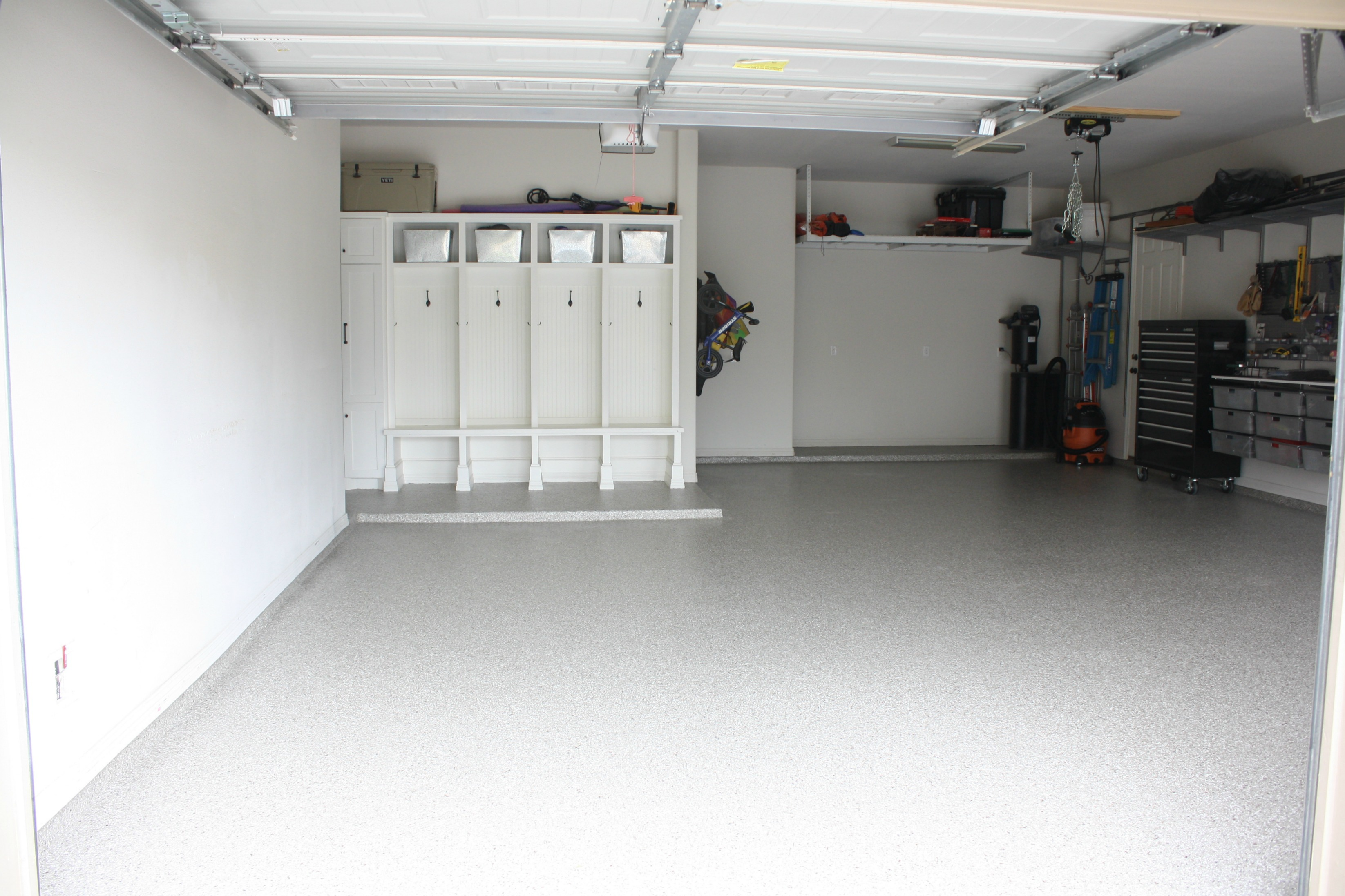How to get spray paint overspray off garage floor new for How to clean off spray paint on concrete