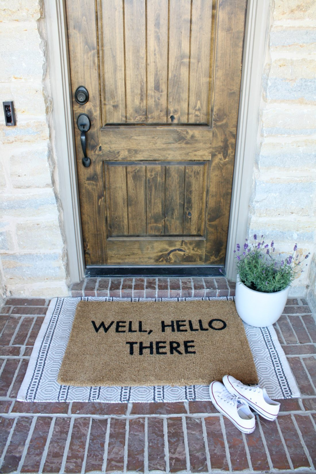 How To Paint A Doormat Crazy Wonderful