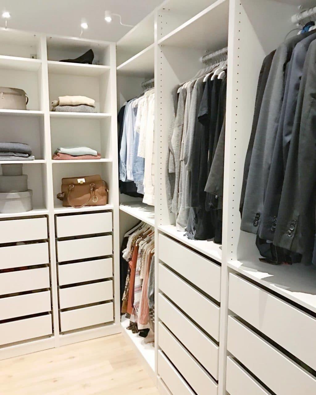 IKEA Closet Inspiration - Crazy Wonderful