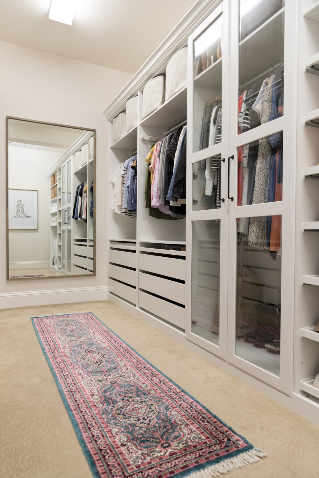 Walk In Closet Makeover With Ikea Pax Crazy Wonderful