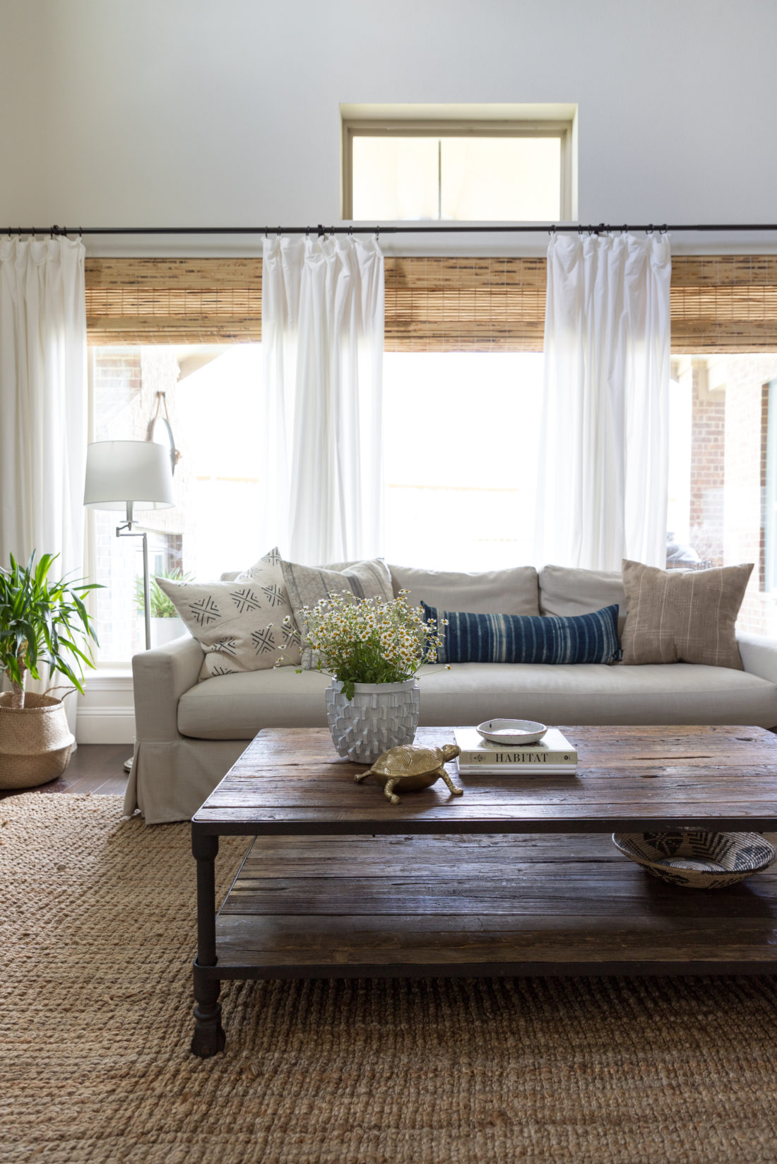 Restoration Hardware Dutch Industrial Coffee Table.Something Different Summer Home Tour Crazy Wonderful